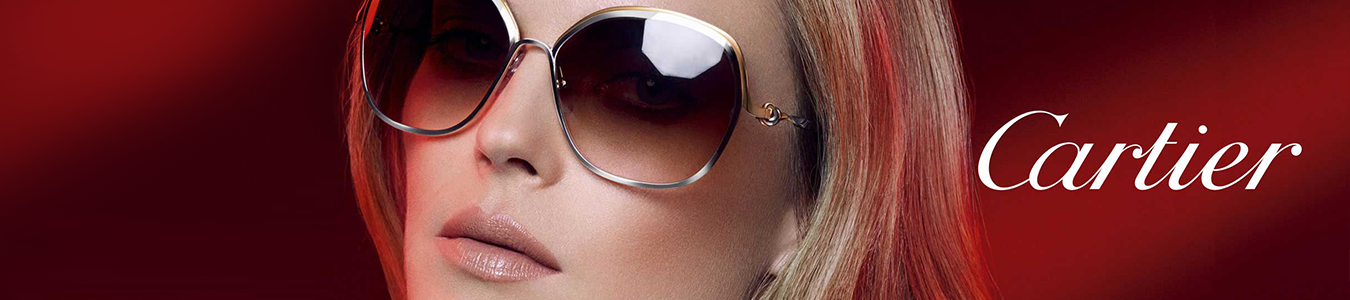 Cartier luxury eye wear